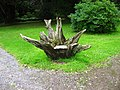 Novel use for a tree stump - geograph.org.uk - 922530.jpg