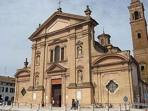 Novellara - Chiesa collegiata di Santo Stefano.
