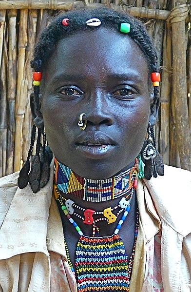 File Nuba Woman2 Jpg Wikimedia Commons