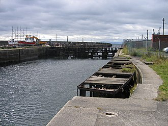 Methil - Image: Number 3 dock, Methil