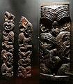 Nuova zelanda, maori, pannello da regione di taranaki, isola del nord, inizio del XIX sec.JPG