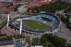 Estadio Ullevi, Gotemburgo (1958), junto con Sten Samuelson }}