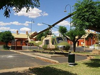 Nyngan - Image: Nyngan helicopter