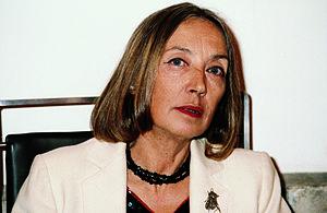 Oriana Fallaci cover