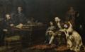 O Último Interrogatório do Marquês de Pombal (1891) - José Malhoa.png