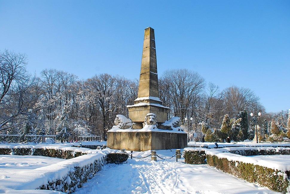 Obeliscul cu lei Iasi 02