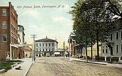 Central Street in 1906