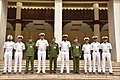 Officers delegation and cadets of the Indian Naval Academy, visit Myanmar Defence Services Academy, 2017 (4).jpg