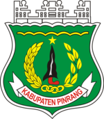 Official Logo of Pinrang Regency.png