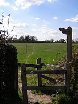 Official diversion of the Test Way, near Forton - geograph.org.uk - 147538