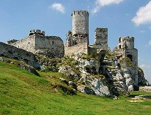 Ogrodzieniec Castle - Image: Ogrodzieniec Zamek Tamerlan