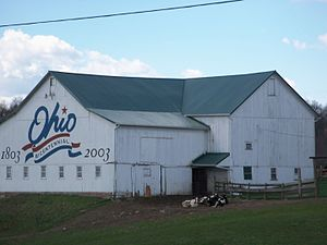 Ohio Bicentennial - The Carroll County bicentennial barn