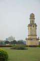 Old Medina Masjid And Clock Tower - Hazarduari Complex - Nizamat Fort Campus - Murshidabad 2017-03-28 6293.JPG