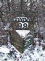 Old Milepost - geograph.org.uk - 1701809.jpg