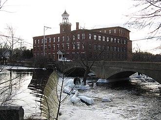 North Billerica, Massachusetts - The old Talbot Mill complex in North Billerica