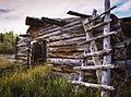 Old building at Robinson Roadhouse, Yukon (10752905863).jpg