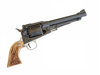 Ruger Blackhawk - The Ruger Old Army is a 45-caliber percussion revolver based on the Ruger Blackhawk action.