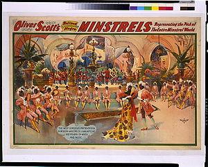 Dan Desdunes - Oliver Scott's Refined Negro Minstrels representing the pick of the entire minstrel world.