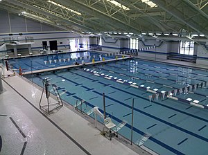 Olney, Maryland - The Graham S. Little Natatorium in June 2011