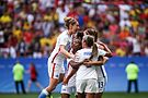 Olympic Games 2016 match between the women's teams of the United States - Sweden. 17.jpg