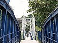 On Teddington Footbridge across the Thames - panoramio.jpg