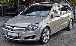 Opel Astra C Caravan (1.9 CDTI), German market