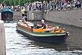 Open rondvaartboot STILLE KRACHT uit 1917 bij de erfgoed manifestatie 2017 van de LVBHB in Hasselt (08).JPG