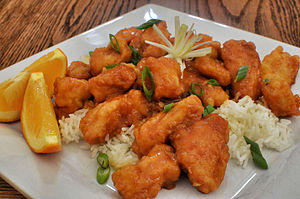 Orange chicken - Another preparation of orange chicken