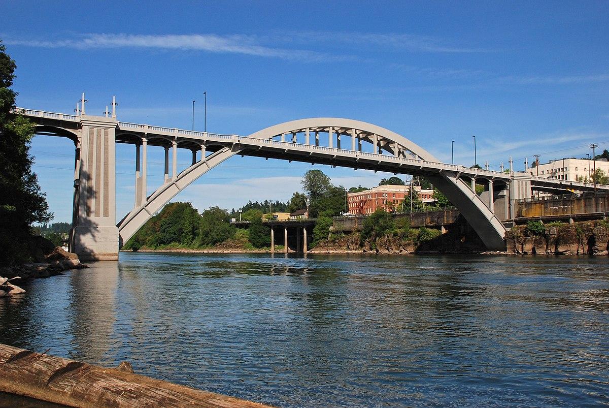 Oregon City Bridge - Wikipedia