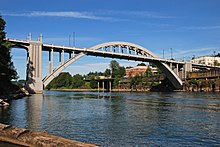 Oregon City Bridge wide view from fishing dock (2013) - 1.jpg