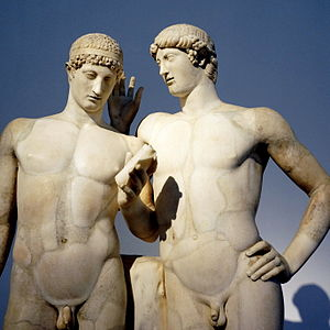 Oreste - Orestes and Pylades, attributed to Pasiteles school