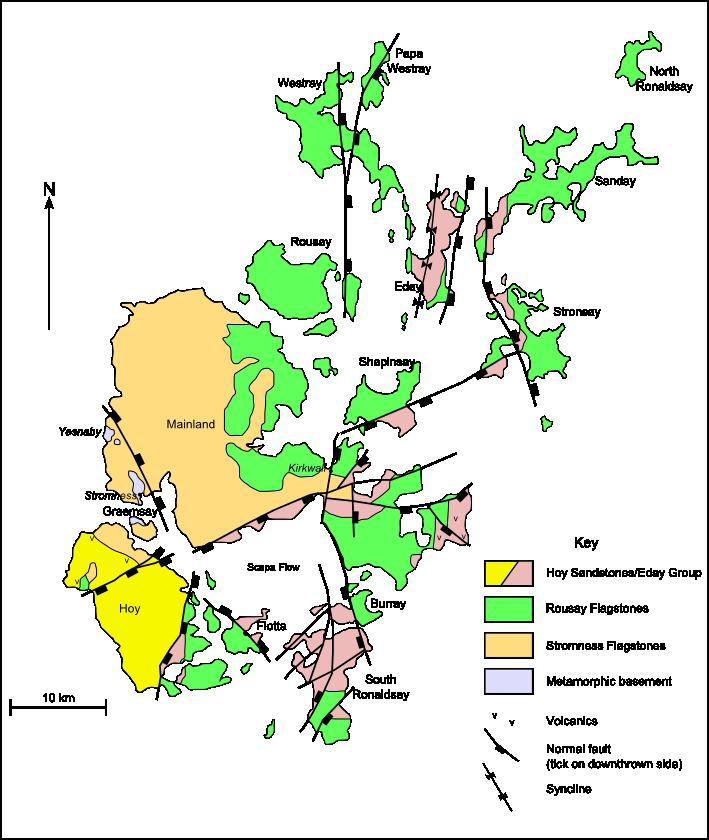 OrkneyGeologyMap
