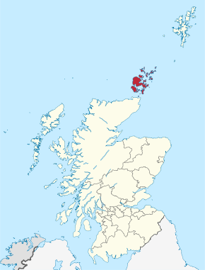 Orkney Islands in Scotland.svg