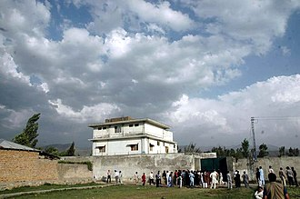 Osama bin Laden's compound in Abbottabad - Another view of the compound