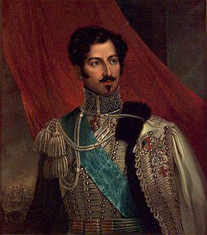 Duke of Galliera - Image: Oscar I porträtterad 1836 av Fredric Westin