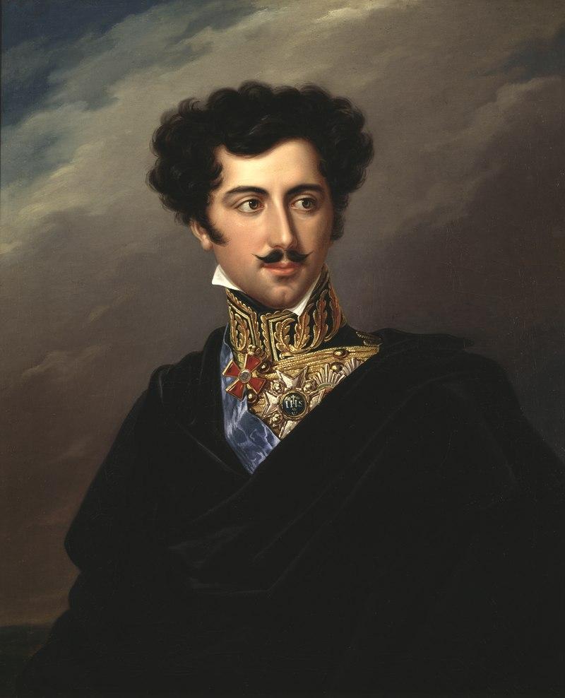 Oskar I, 1799-1859, kung av Sverige och Norge (Fredric Westin) - Nationalmuseum - 80941.tif
