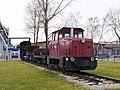 Ostrava, Vítkovice, divize Doprava, lokomotiva.jpg