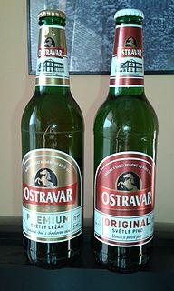 Ostravar Brewery Czech brewery