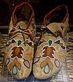Otoe moccasins, c. 1875 - Bata Shoe Museum - DSC00604.JPG