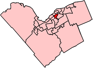 Capital Ward - Image: Ottawa capital