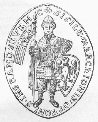 Otto II, Margrave of Brandenburg - Image: Otto II, Margrave of Brandenburg