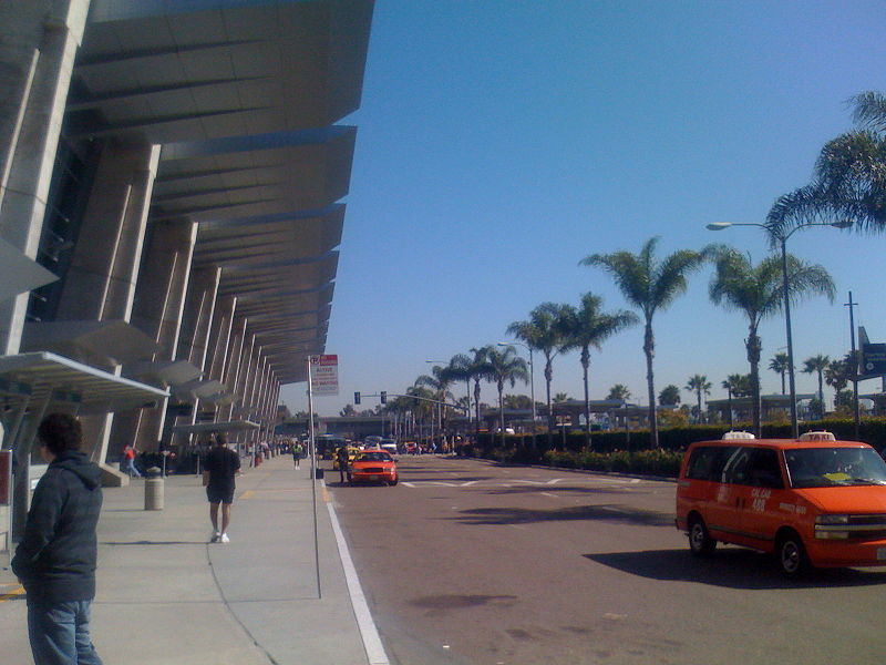 Aeroporto de San Diego, Califórnia.