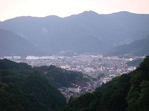 Owase, Mie - central Owase City