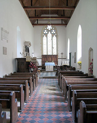 Oxnead - Interior of St Michael's Church, Oxnead