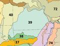 Ozark Highlands ecoregion, Level III.png