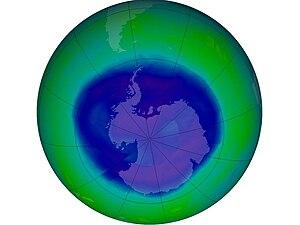 English: Ozone Hole
