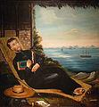 Père jésuite se reposant devant la baie de Hong-Kong-Musée de la Compagnie des Indes.jpg