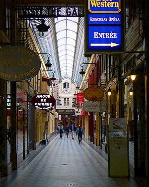 Passage Jouffroy - Image: P1020612 Paris IX Passage Jouffroy rwk
