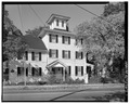 PERSPECTIVE VIEW OF EAST SIDE LOOKING NORTHWEST - Jonathan Pitney House, Shore Road, Absecon, Atlantic County, NJ HABS NJ,1-ABSEC,2-1.tif