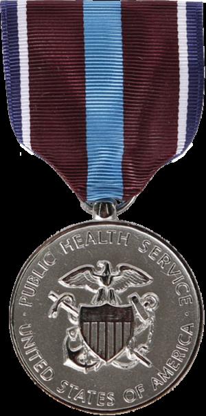 Public Health Service Outstanding Service Medal - Image: PHS Outstanding Service Medal